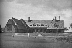 Elevation of the clubhouse, North Jersey Country Club, Paterson, New Jersey, 1925