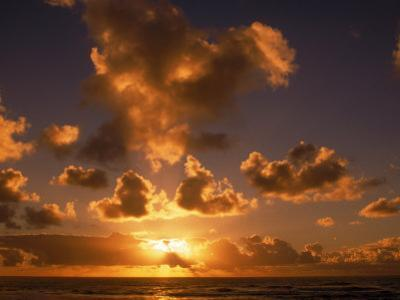 Sunrise at Poipu, Kauai, HI