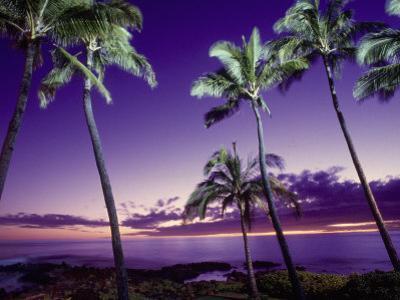 Sunset, Poipu Beach, Kauai, HI