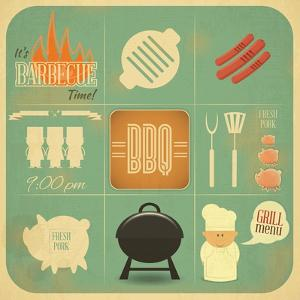 Barbecue Menu BBQ by elfivetrov