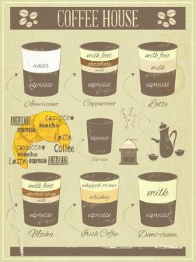 Coffee House Old Infographics by elfivetrov