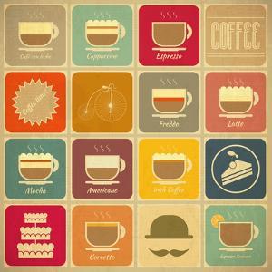 Coffee Labels by elfivetrov