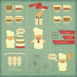 Cover Menu For Bakery by elfivetrov