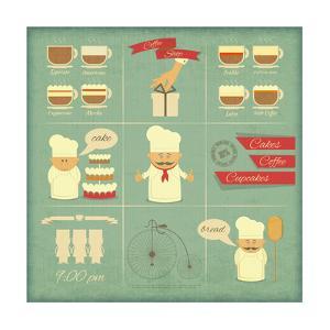 Cover Menu For Bakery by elfivetrov