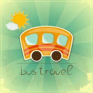 Fun Bus Travel Card by elfivetrov