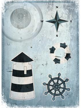 Marine Grunge Background by elfivetrov