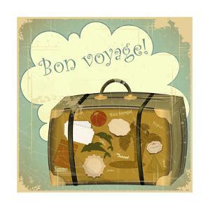 Travel Suitcase by elfivetrov