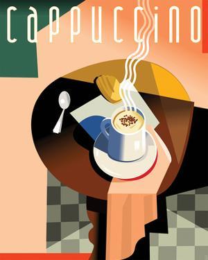 Cubist Cappucino II by Eli Adams