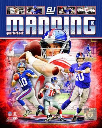 Eli Manning 2012 Portrait Plus