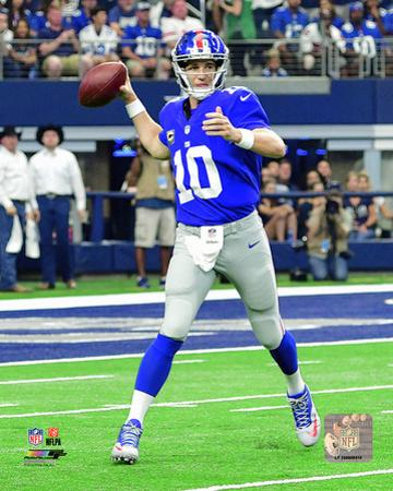 Eli Manning 2016 Action