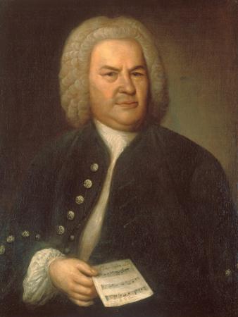 Johann Sebastian Bach by Elias Gottlob Haussmann