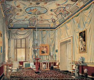 Room of Carolina Murat in the Palazzo Reale in Naples by Elie-Honore Montagny