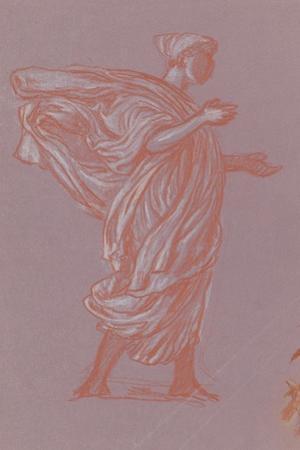 Standing Figure, c.1872-77 by Elihu Vedder