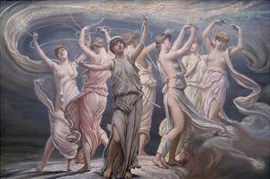 The Pleiades - Seven Sisters by Elihu Vedder