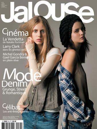 Jalouse, April 2006 - Sasha & Dominika by Elina Kechicheva