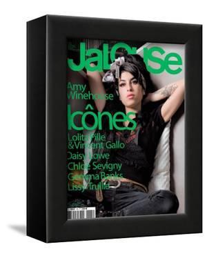 Jalouse, November 2007 - Amy Whinehouse by Elina Kechicheva
