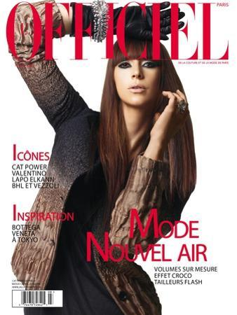 L'Officiel, August 2007 - Cat Power by Elina Kechicheva