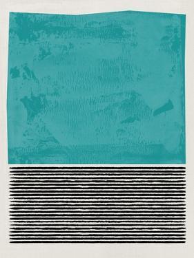 Mid Century Turquoise Study by Eline Isaksen