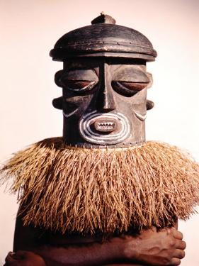 Dance Masks Used by the Bushonogo Tribe in the Belgian Congo by Eliot Elisofon