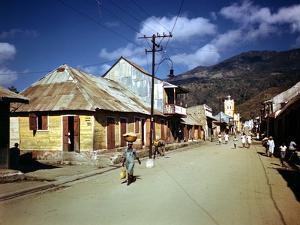 December 1946: Town of Cap Haitien, Haiti by Eliot Elisofon