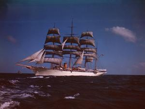 "Joseph Davies' Yacht ""Sea Cloud"" in the Caribbean by Eliot Elisofon"