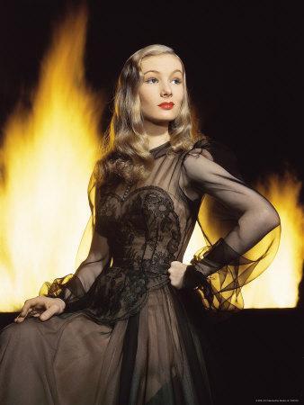 Portrait of Actress Veronica Lake