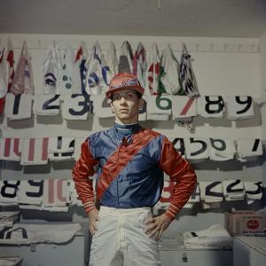Portrait of Jockey Bill Willie Hartack Jr. 1955 by Eliot Elisofon