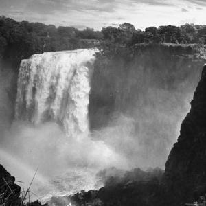 View of Victoria Falls on the Zambesi River by Eliot Elisofon