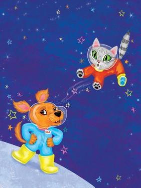 Mutt on the Moon - Jack & Jill by Elisa Chavarri