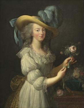 Marie-Antoinette, 1783 by Elisabeth Louise Vigee Le Brun