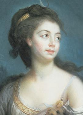 Allegorical Portrait of a Lady as Diana, 1777 by Elisabeth Louise Vigee-LeBrun