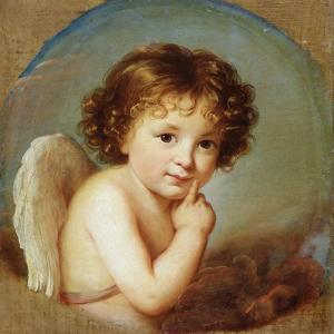 Cupid, Late 18th or 19th Century by Elisabeth Louise Vigee-LeBrun