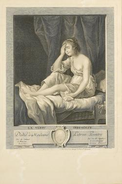 La Vertu Irresolue by Elisabeth Louise Vigee-LeBrun