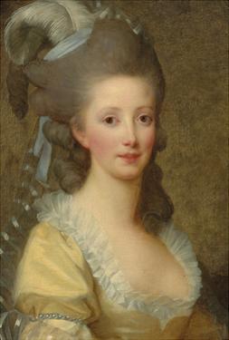 Portrait of a Woman by Elisabeth Louise Vigee-LeBrun