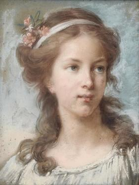 Portrait of a Young Girl by Elisabeth Louise Vigee-LeBrun