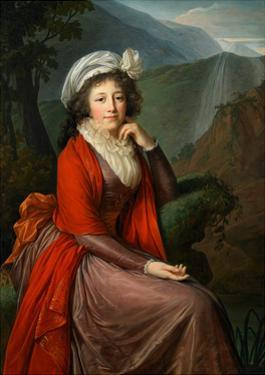 Portrait of Countess Maria Theresia Bucquoi, 1793 by Elisabeth Louise Vigee-LeBrun