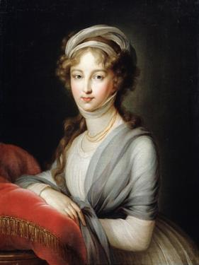 Portrait of Empress Elizabeth Alexeievna, C1795 by Elisabeth Louise Vigee-LeBrun