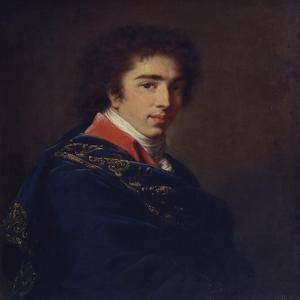 Portrait of Prince Ivan Baryatinsky, 1800 by Elisabeth Louise Vigee-LeBrun