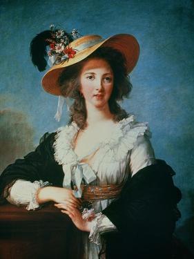 Portrait of the Duchess of Polignac (circa 1749-93) by Elisabeth Louise Vigee-LeBrun
