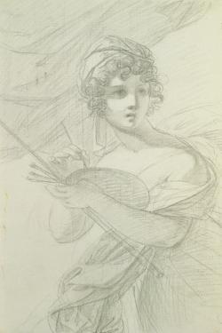 Self Portrait, C.1800 by Elisabeth Louise Vigee-LeBrun