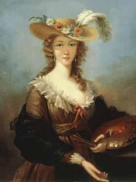 Self Portrait by Elisabeth Louise Vigee-LeBrun