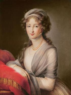 The Grand Duchess Elizabeth Alexeievna by Elisabeth Louise Vigee-LeBrun