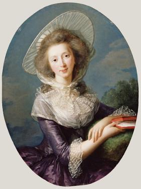 The Vicomtesse De Vaudreuil, 1785 by Elisabeth Louise Vigee-LeBrun