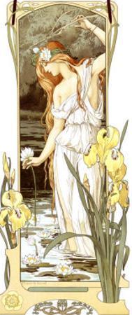Fleurs des Eaux by Elisabeth Sonrel