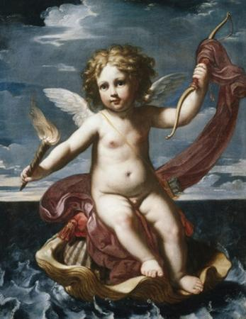 Cupid with a Torch