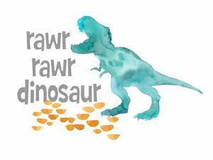 Rawr Rawr Dinosaur by Elise Engh