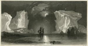 Elisha Kent Kane's Arctic Expedition: Giant Icebergs in Life Boat Cove, Near Kosoak