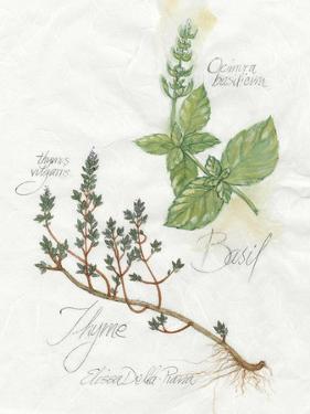 Basil & Thyme by Elissa Della-piana