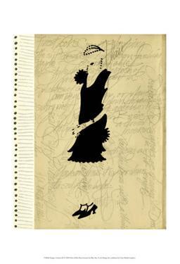 Flapper Fashion III by Elissa Della-piana