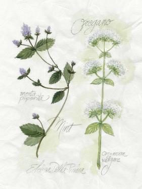 Oregano and Mint by Elissa Della-piana